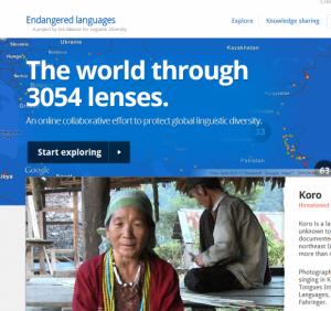 Google основал интернет-каталог исчезающих языков